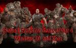 [NAPRAWIONO] Błędy Gears of War 4 i optymalizacja wydajności w systemie Windows 10 i Xbox