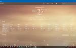 Jak odinstalować aplikację Weather w systemie Windows 10