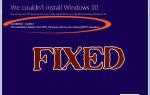 Jak naprawić błąd Nie można zainstalować systemu Windows 10 Błąd 0XC1900101 — 0x20017?