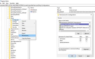 Usługa klienta DHCP powoduje błąd odmowy dostępu w systemie Windows 10