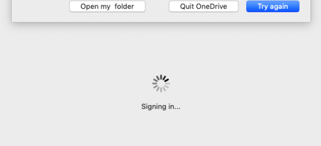 Synchronizujesz już to konto — błąd OneDrive dla komputerów Mac