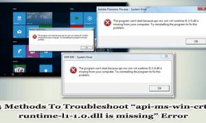 """4 metody rozwiązywania problemów """"Brak pliku api-ms-win-crt-runtime-l1-1.0.dll"""""""