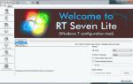 Utwórz dysk poślizgowy Windows 7 z dodatkiem Service Pack 1, używając RT Seven Lite