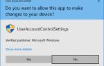 Wyłącz kontrolę konta użytkownika