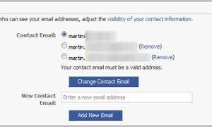 Jak zmienić główny adres e-mail na Facebooku