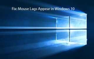Metody naprawy opóźnień myszy pojawiają się w systemie Windows 10