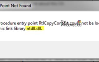 Napraw błąd awarii ntdll.dll w systemie Windows 10