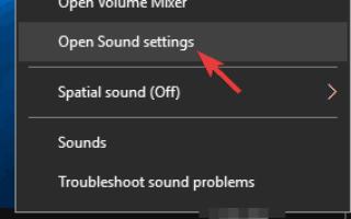 Pełna poprawka: problemy z dźwiękiem w Windows 10, 8.1, 7