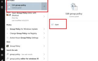 Jak otworzyć Edytor zasad grupy w systemie Windows 10
