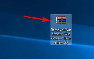 Jak usunąć znak wodny w Windows 10, 8.1 lub 7
