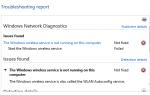 Błąd usługi AutoConfig sieci WLAN Błąd 1067 w systemie Windows 10, 8.1