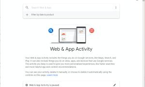 Jak automatycznie usuwać Aktywność w internecie i aplikacjach Google