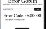 Błąd pobierania Goblin: wyszukaj dowolny kod błędu systemu Windows lub Mac.