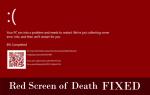 Czerwony ekran śmierci: 5 naprawionych błędów RSOD systemu Windows 10