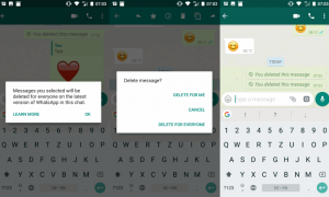 Jak usunąć wysłane przez Ciebie wiadomości WhatsApp
