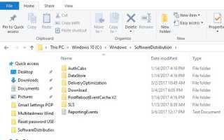 SoftwareDistribution: jakie są cele folderu i czy mogę go usunąć?