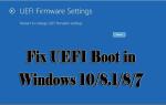 [Kompletny przewodnik] Napraw UEFI Boot w Windows 10 / 8.1 / 8/7