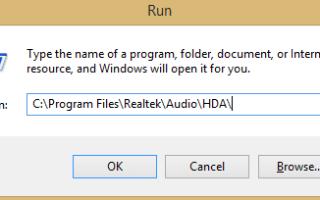 Realtek HD Audio Manager nie otworzy się? Oto, co robić