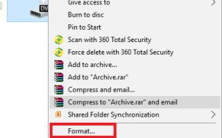 System Windows nie mógł ukończyć formatu podczas korzystania z dysku CD RW [Poprawka]