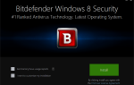 Przegląd Bitdefender Windows 8 Security Antivirus dla Windows 8, 8.1