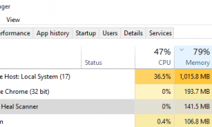 Host usługi: System lokalny (svchost.exe) Wysokie użycie procesora i dysku