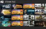 Jak mogę przypiąć gry Steam do ekranu startowego Windows 10, 8.1?