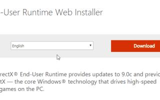 Pełna poprawka: D3dx9_43.dll brakuje błędu w Windows 10, 8.1, 7