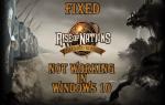 [Rozwiązany] Nie można grać w Rise of Nations w Windows 10