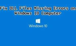 Dowiedz się, jak naprawić brakujące pliki DLL na komputerze z systemem Windows 10