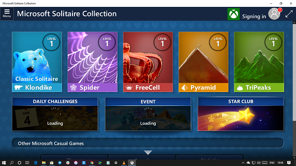 odinstaluj Microsoft Solitaire Collection