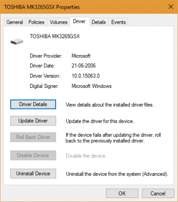 Tutaj's why Windows 10 Device Drivers are dated back to Vista RTM Date
