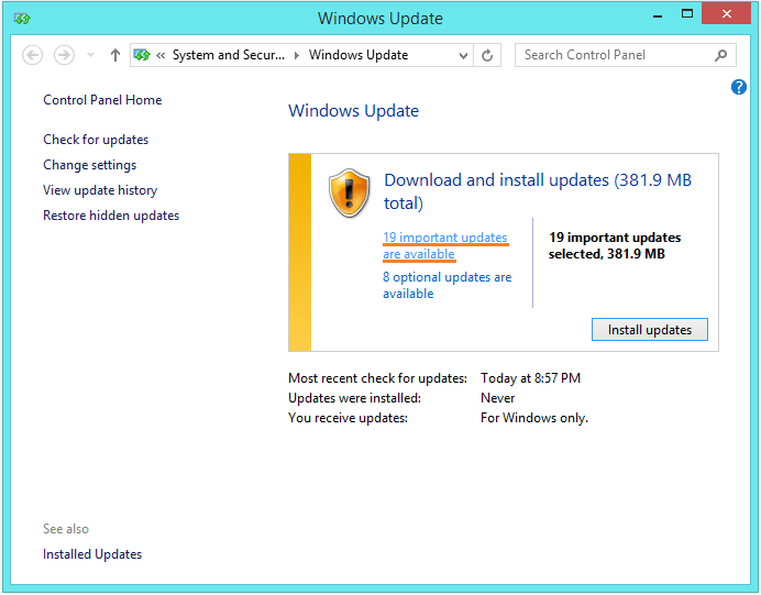 driver_irql_not_less_or_equal-Windows-update-check-for-updates-2-Windows-Wally